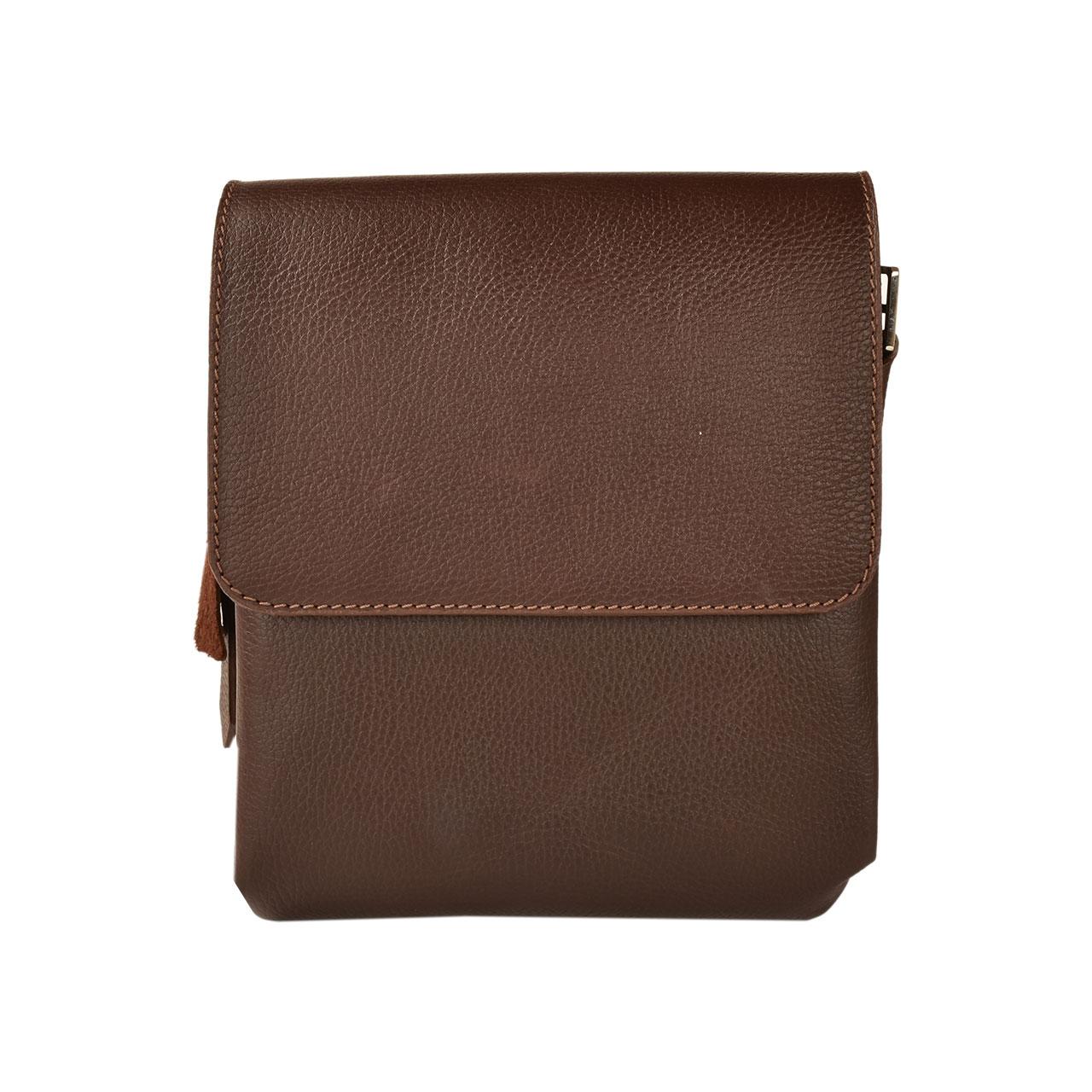 کیف دوشی چرم طبیعی کهن چرم مدل DB101-7