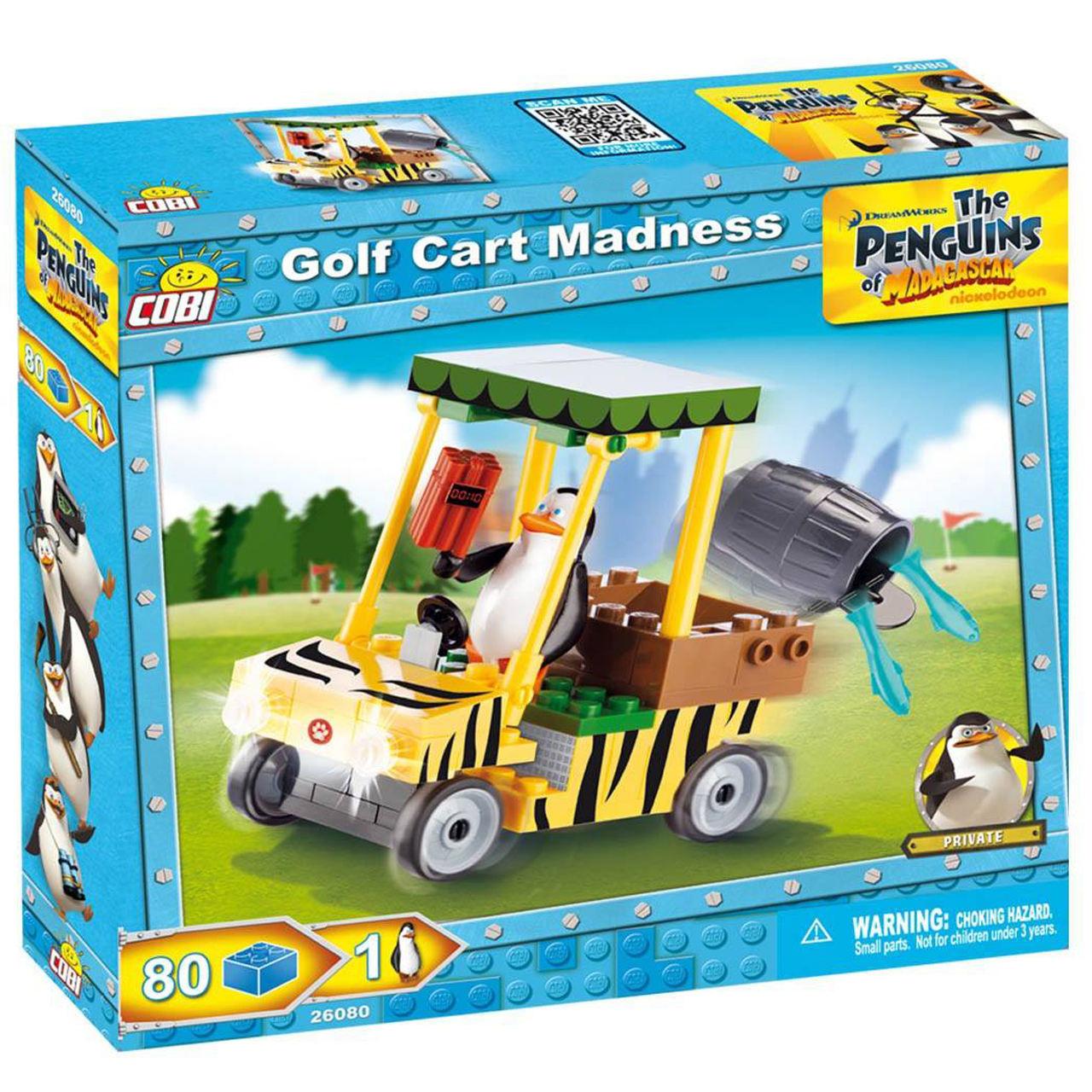 لگو کوبی مدل Penguins Golf Cart Madness