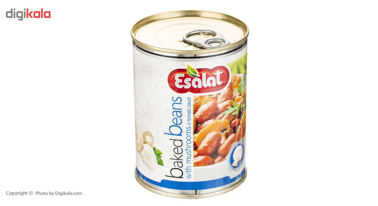 خوراک لوبیا چیتی با قارچ در سس گوجه فرنگی اصالت - 380 گرم main 1 3