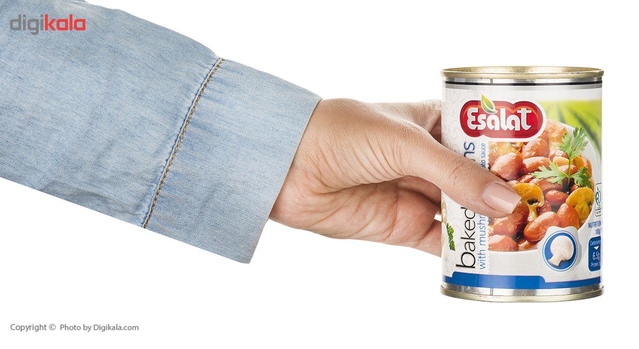 خوراک لوبیا چیتی با قارچ در سس گوجه فرنگی اصالت - 380 گرم main 1 5
