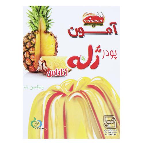 پودر ژله آناناس آمون مقدار 100 گرم