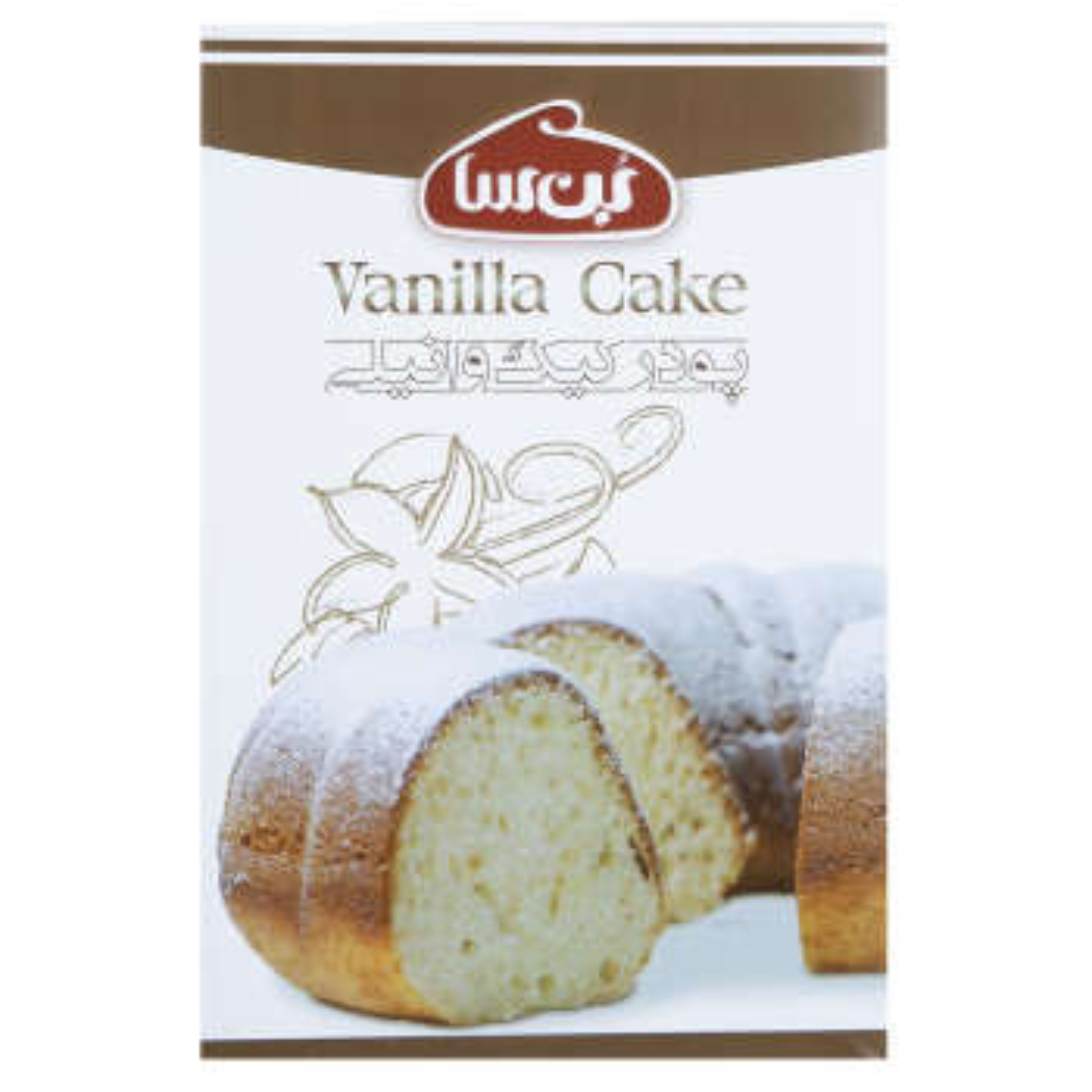 پودر کیک وانیلی بن سا مقدار 500 گرم