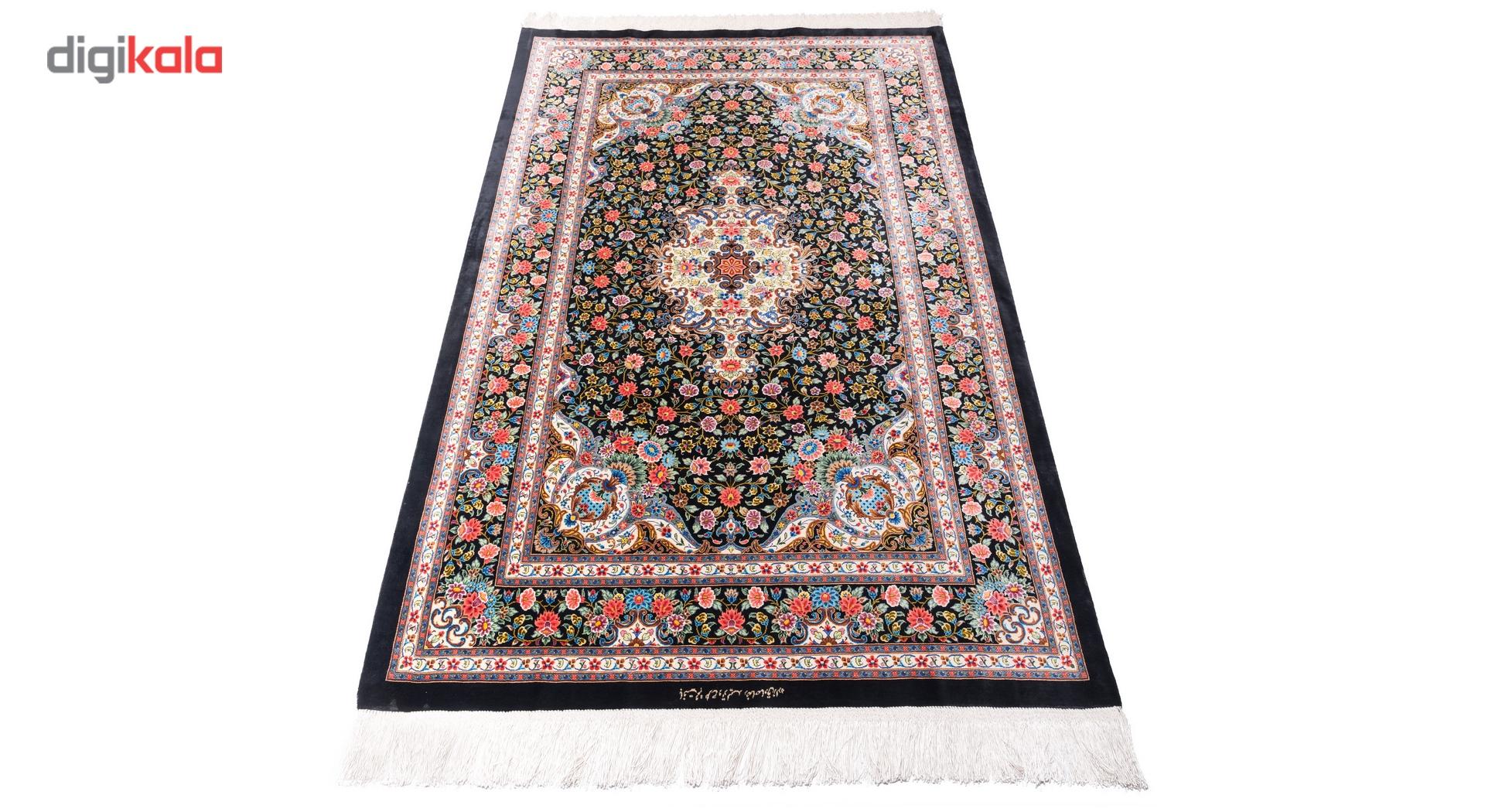 خرید                       فرش دستبافت ذرع ونیم سی پرشیا کد 161084