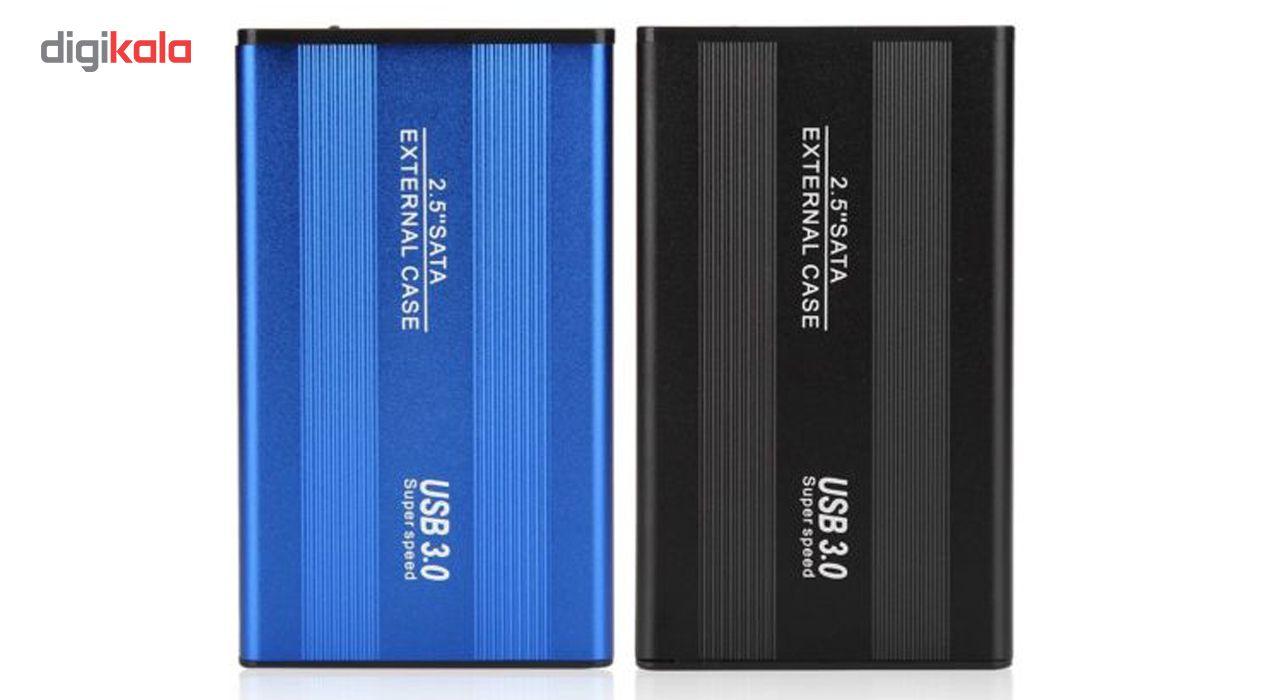 باکس تبدیل SATA به USB 3.0   مدل NM-FB فلزی 2.5 اینچی main 1 3