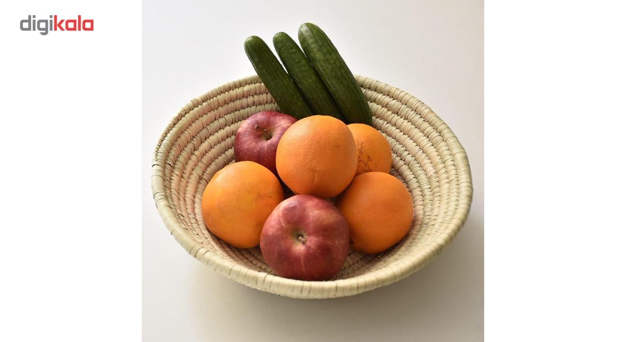 خرید                      میوه خوری حصیری آکسور مدل 84073