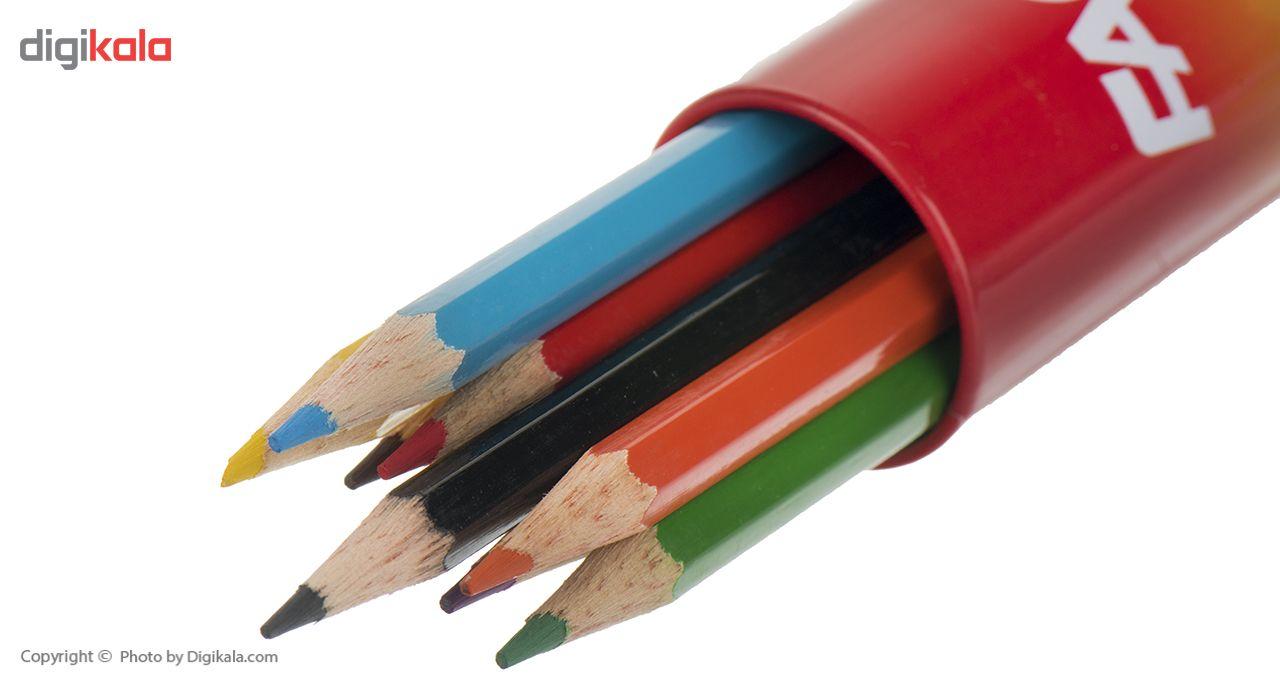 مداد رنگی 12 رنگ فکتیس main 1 2