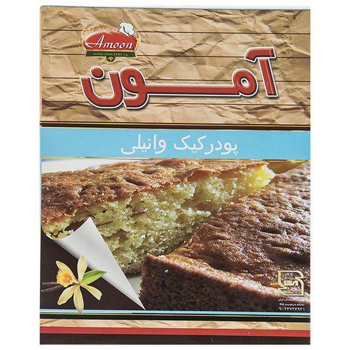 پودر کیک وانیلی آمون مقدار 500 گرم