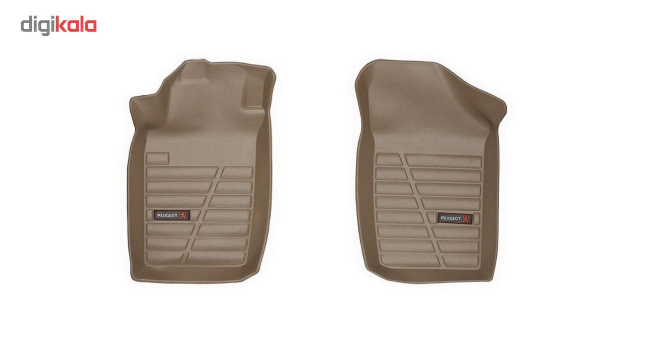 کفپوش سه بعدی خودرو لاستیک گیلان مناسب برای پژو 206 main 1 1