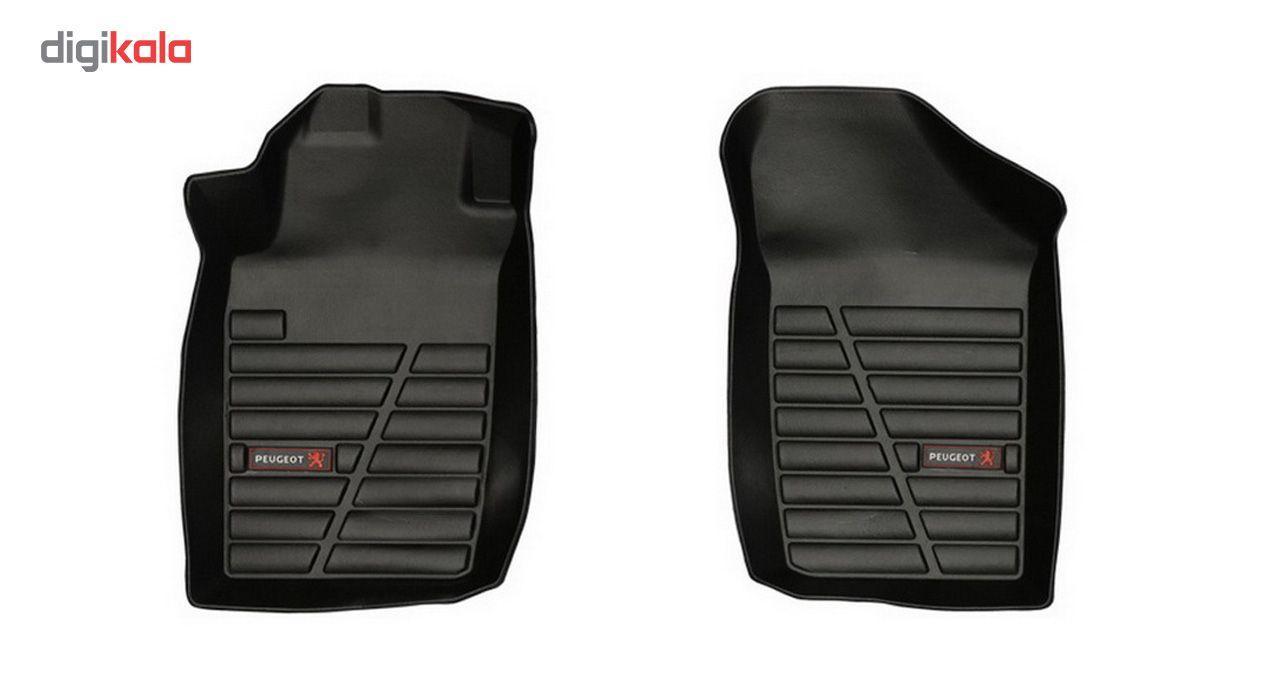 کفپوش سه بعدی خودرو لاستیک گیلان مناسب برای پژو 206 main 1 5