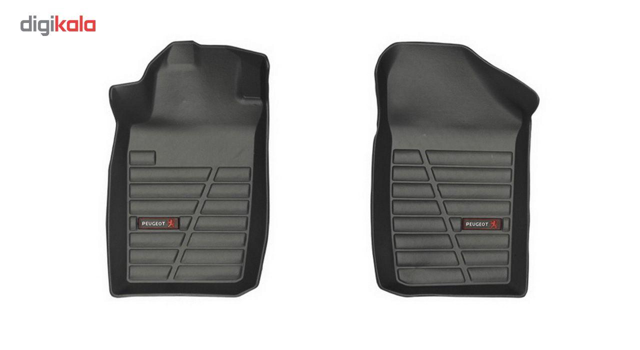 کفپوش سه بعدی خودرو لاستیک گیلان مناسب برای پژو 206 main 1 8