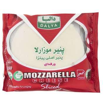 پنیر موزارلا ورقه ای پرچرب دالیا مقدار 180 گرم