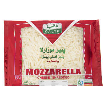 پنیر پیتزا موزارلا دالیا مقدار 250 گرم