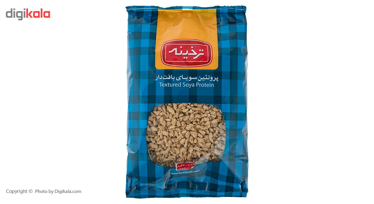 پروتئین سویای بافت دار ترخینه مقدار 300گرم main 1 2