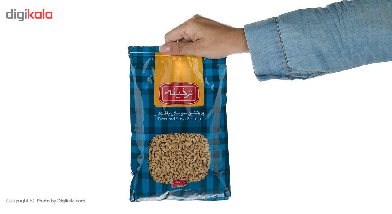 پروتئین سویای بافت دار ترخینه مقدار 300گرم main 1 5