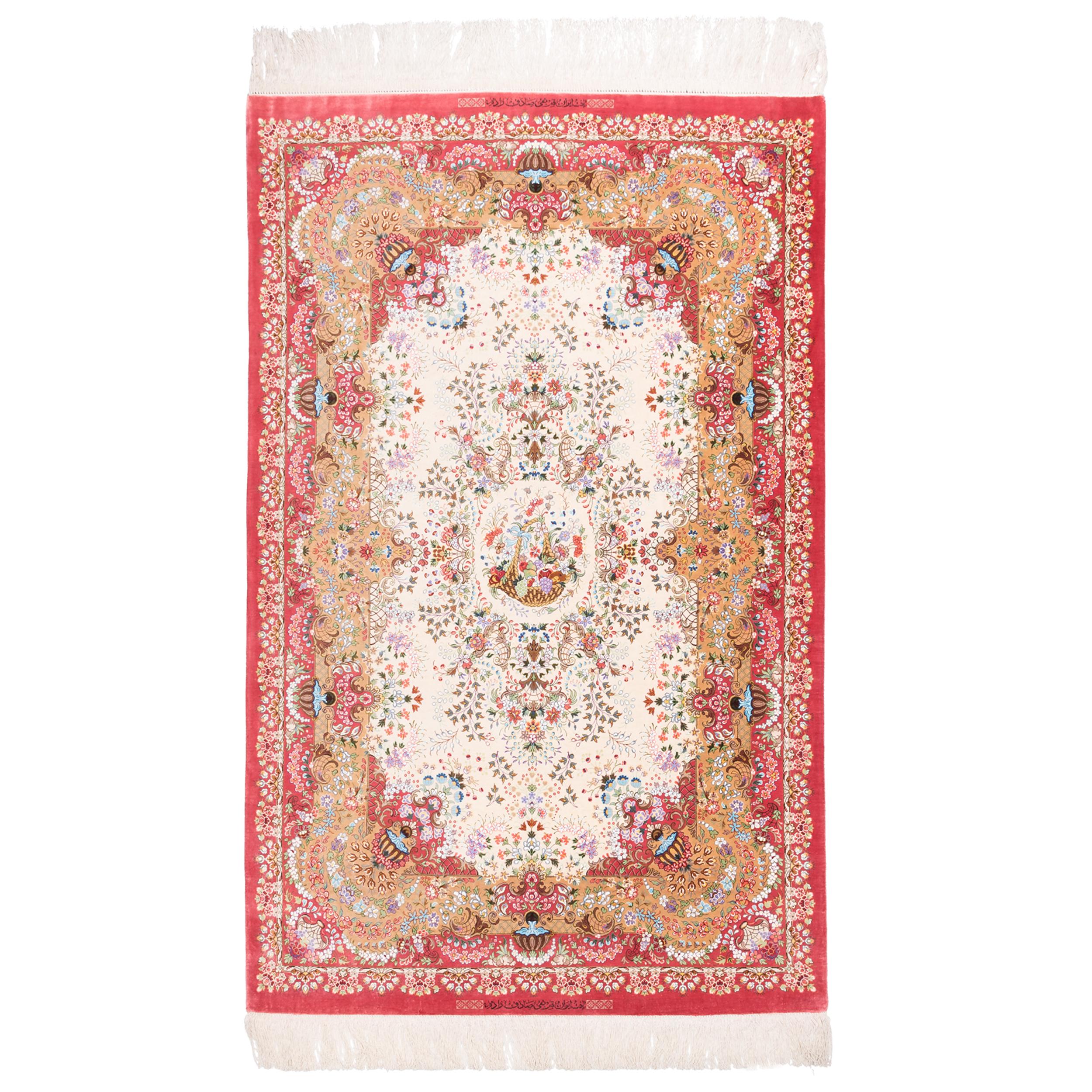 فرش دستبافت ذرع ونیم سی پرشیا کد 161093