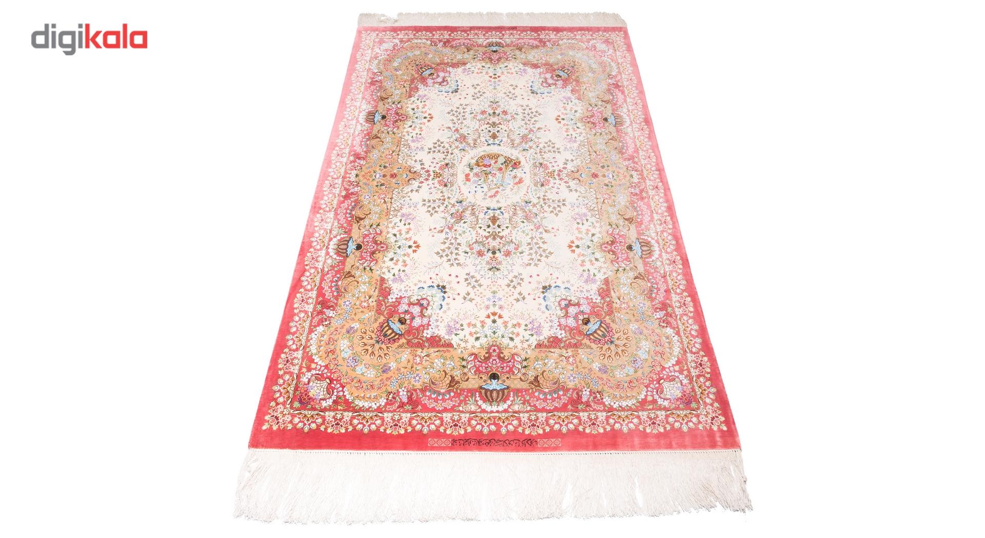 خرید                       فرش دستبافت ذرع ونیم سی پرشیا کد 161093