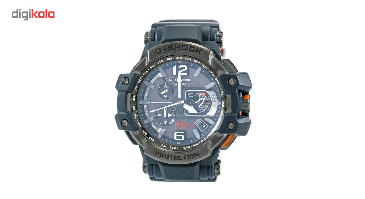 خرید ساعت مچی عقربهای مردانه کاسیو جی شاک مدل GPW-1000-1BDR | ساعت مچی