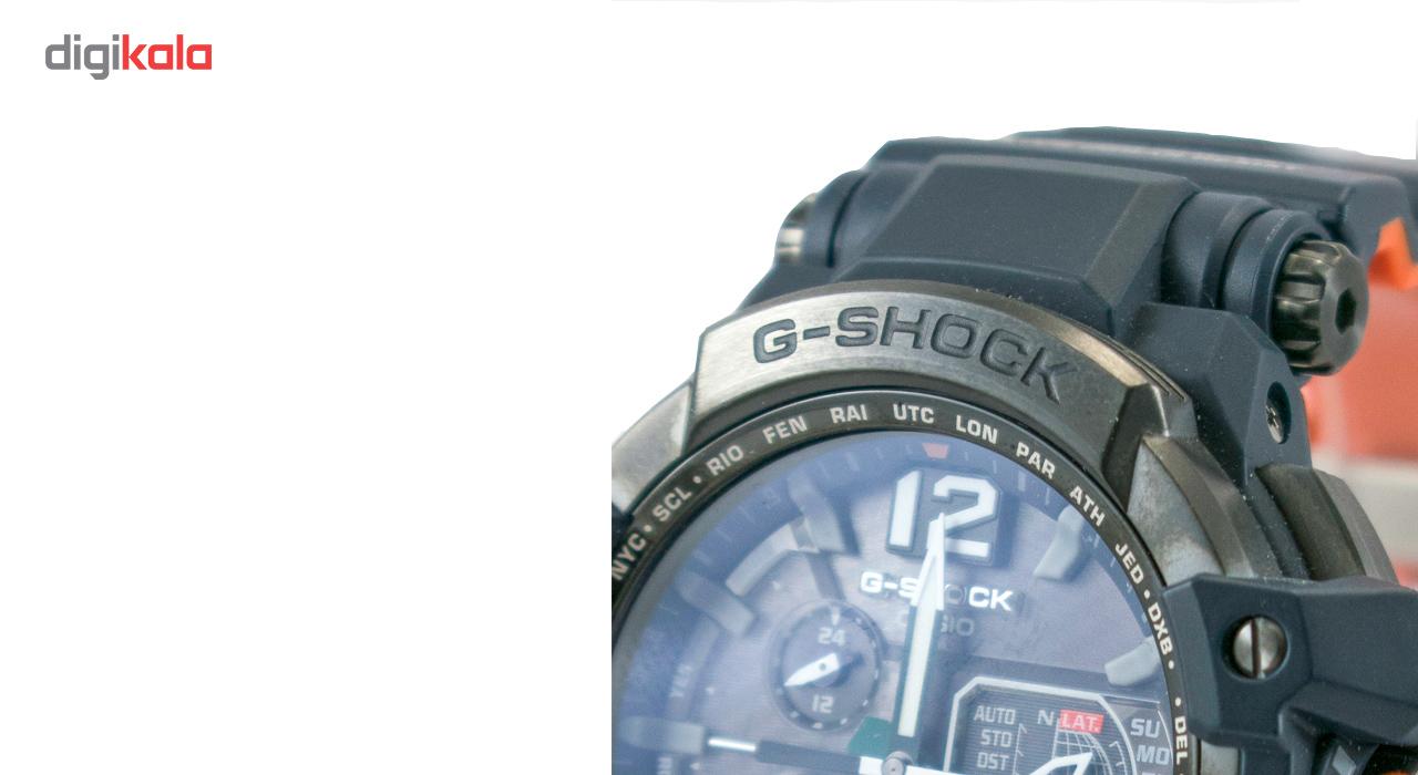 ساعت مچی عقربهای مردانه کاسیو جی شاک مدل GPW-1000-1BDR