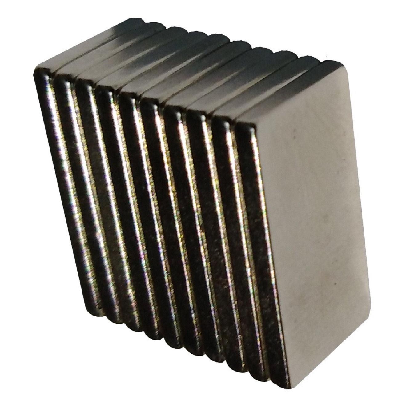 آهن ربا مدل مکعبی بسته 10 عددی