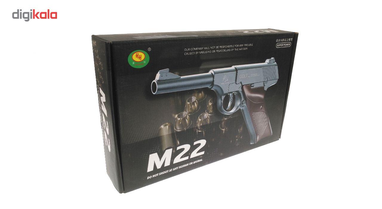 تفنگ بازی مدل کلت فلزی M22 main 1 4