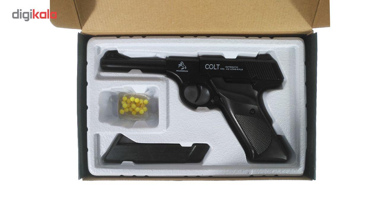 تفنگ بازی مدل کلت فلزی M22 main 1 5