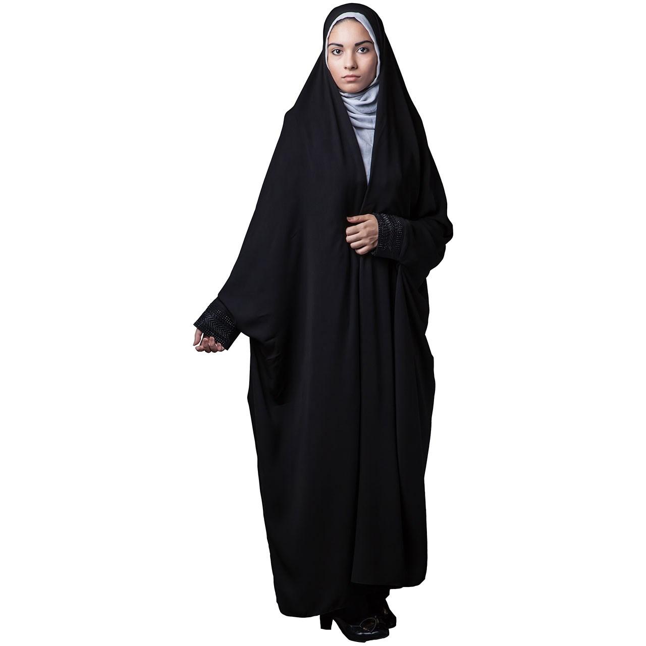 چادر دانشجویی مجلسی حجاب فاطمی مدل 201026