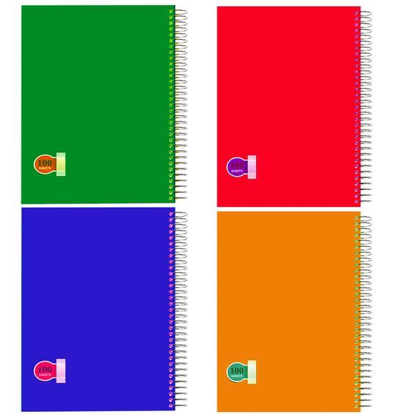 دفتر مشق کد D9 بسته 4 عددی
