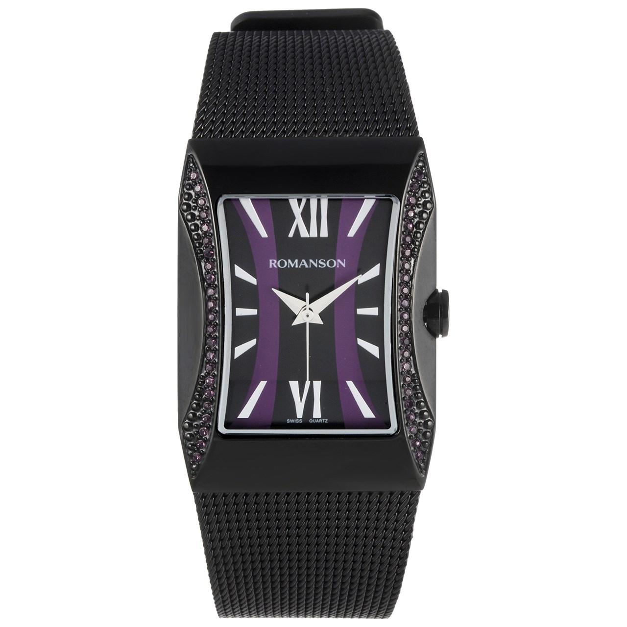 ساعت مچی عقربه ای زنانه رومانسون مدل RM0358TL1BB32W