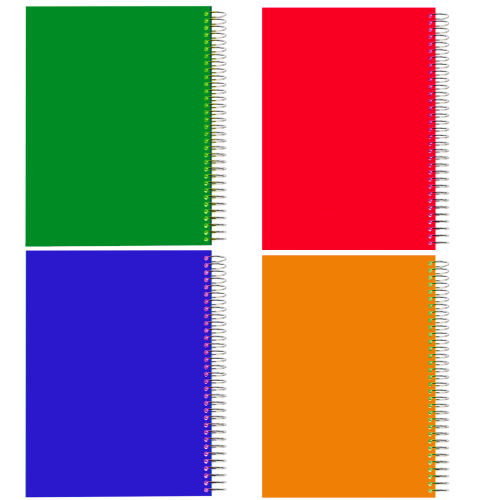 دفتر مشق کد D17 بسته 4 عددی
