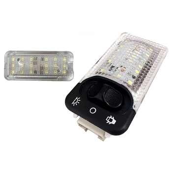 چراغ سقف و صندوق خودرو تک لایت مدل AM 5964 مناسب برای سمند مجموعه 2 عددی