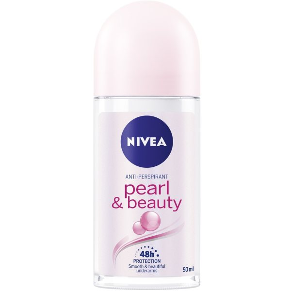 رول ضد تعریق زنانه نیوآ مدل Pearl & Beauty حجم 50 میلی لیتر