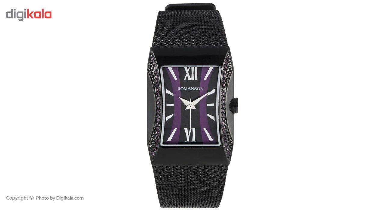 ساعت مچی عقربه ای زنانه رومانسون مدل RM0358TL1BB32W -  - 2