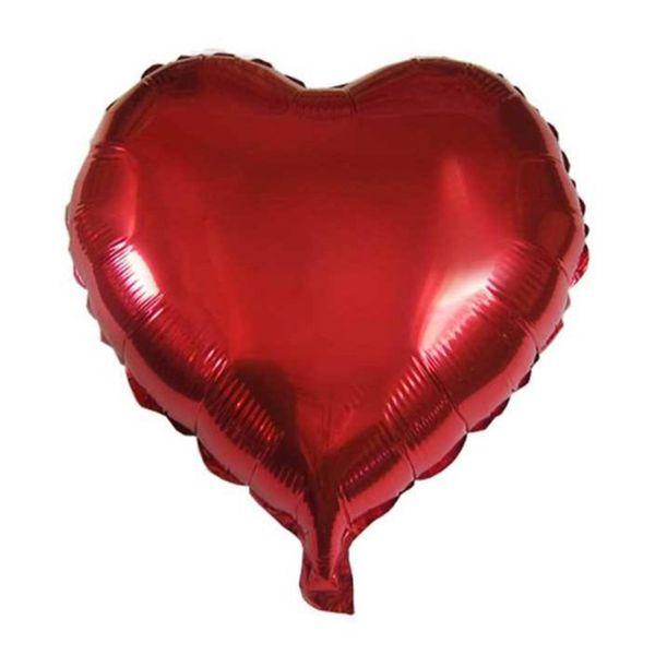 بادکنک فویلی مدل Heart سایز 120