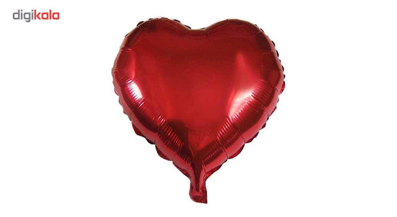 بادکنک فویلی مدل Heart سایز 120 main 1 1
