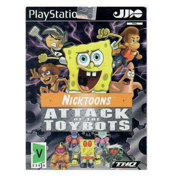 بازی Attack Of The Toybots مخصوص PS2