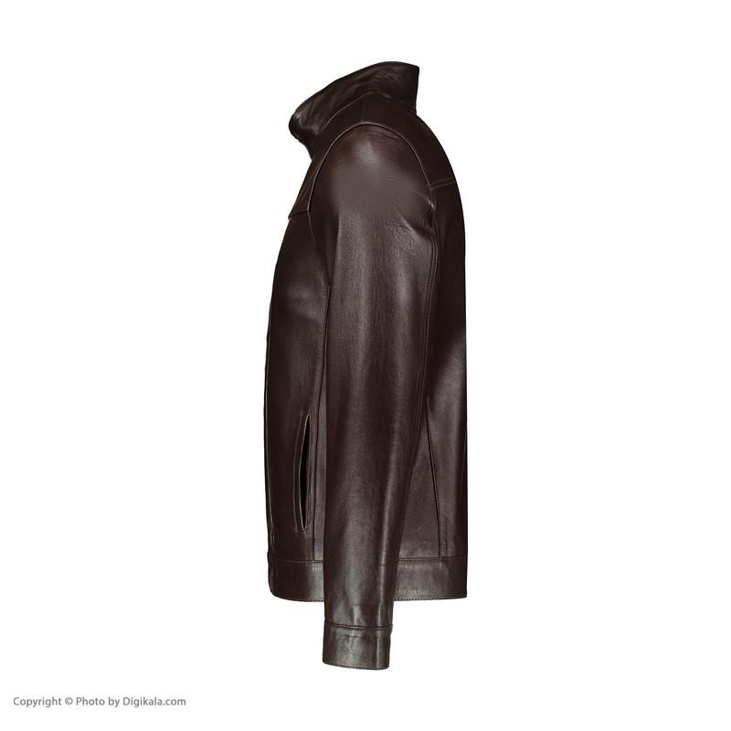 کت چرم مردانه شیفر مدل 7m57-2