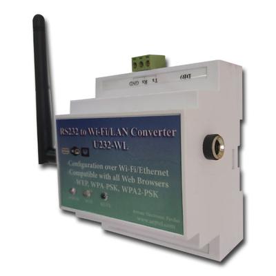 مبدل پورت RS232 به wifi/Ethernet مدل AEP-U232W
