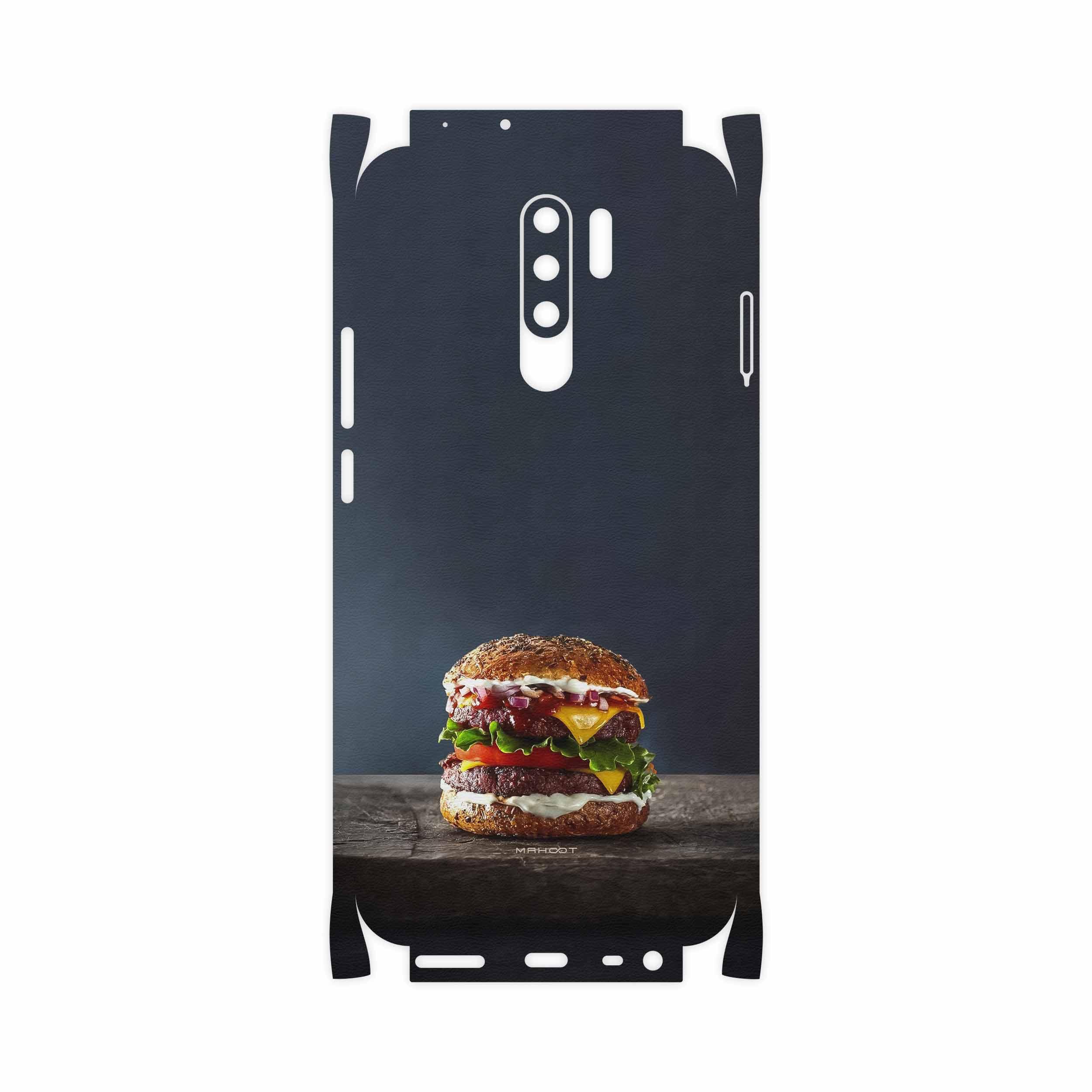 برچسب پوششی ماهوت مدل Hamburger-FullSkin مناسب برای گوشی موبایل شیائومی Redmi 9