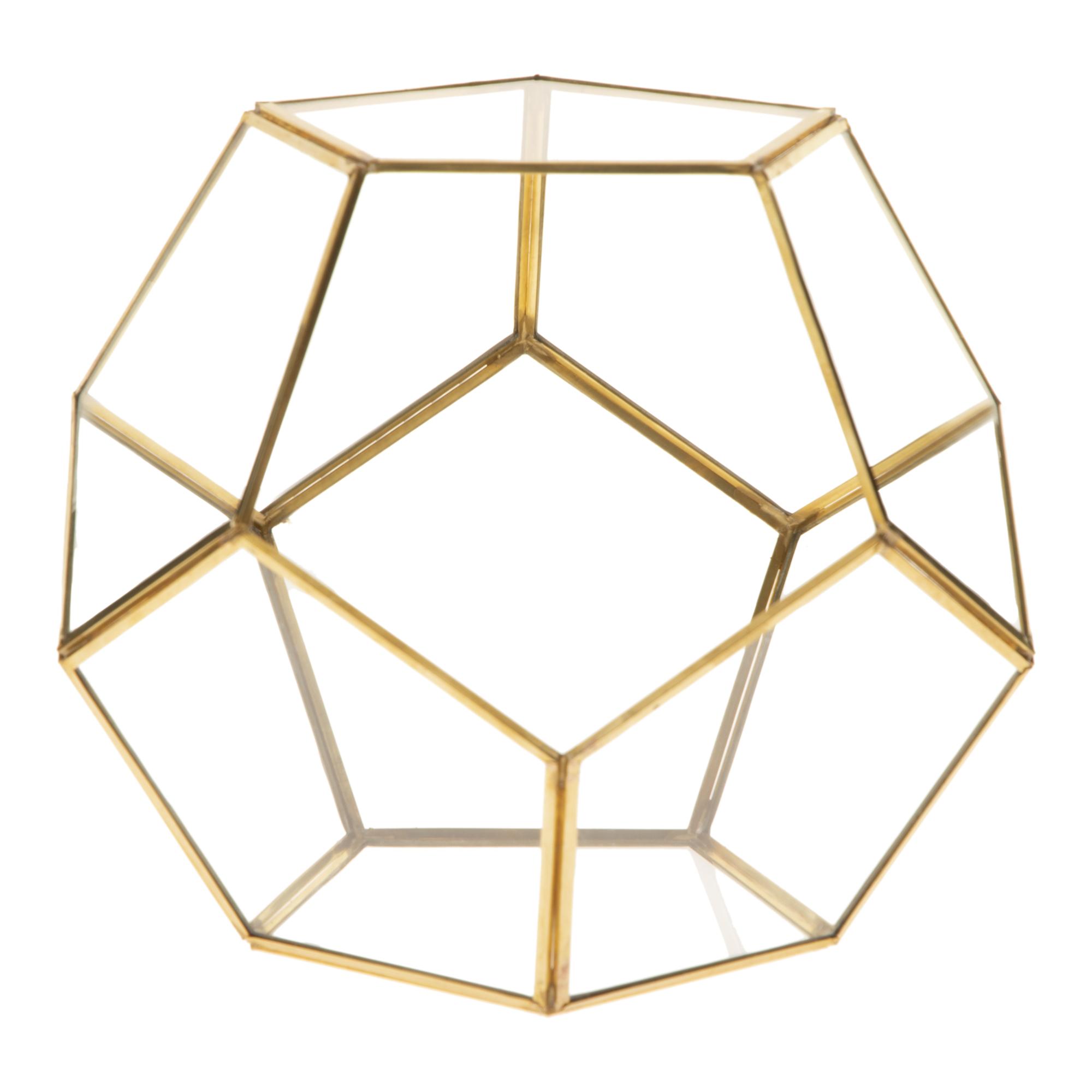 گلدان شیشه ای مدل آلفا کد MK3723