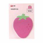 کاغذ یادداشت چسب دار طرح توت فرنگی کد 140356 thumb