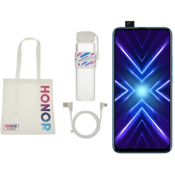 گوشی موبایل آنر مدل 9X STK-LX1 دوسیم کارت ظرفیت 128 گیگابایت و رم 6 گیگابایت به همراه هدیه مخصوص آنر