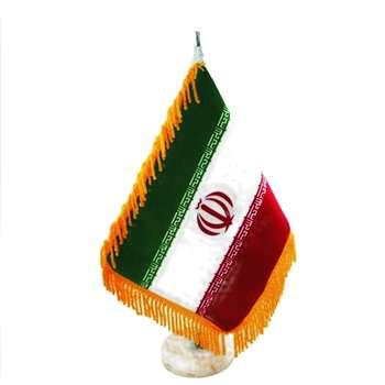 پرچم رومیزی طرح ایران کد 1314