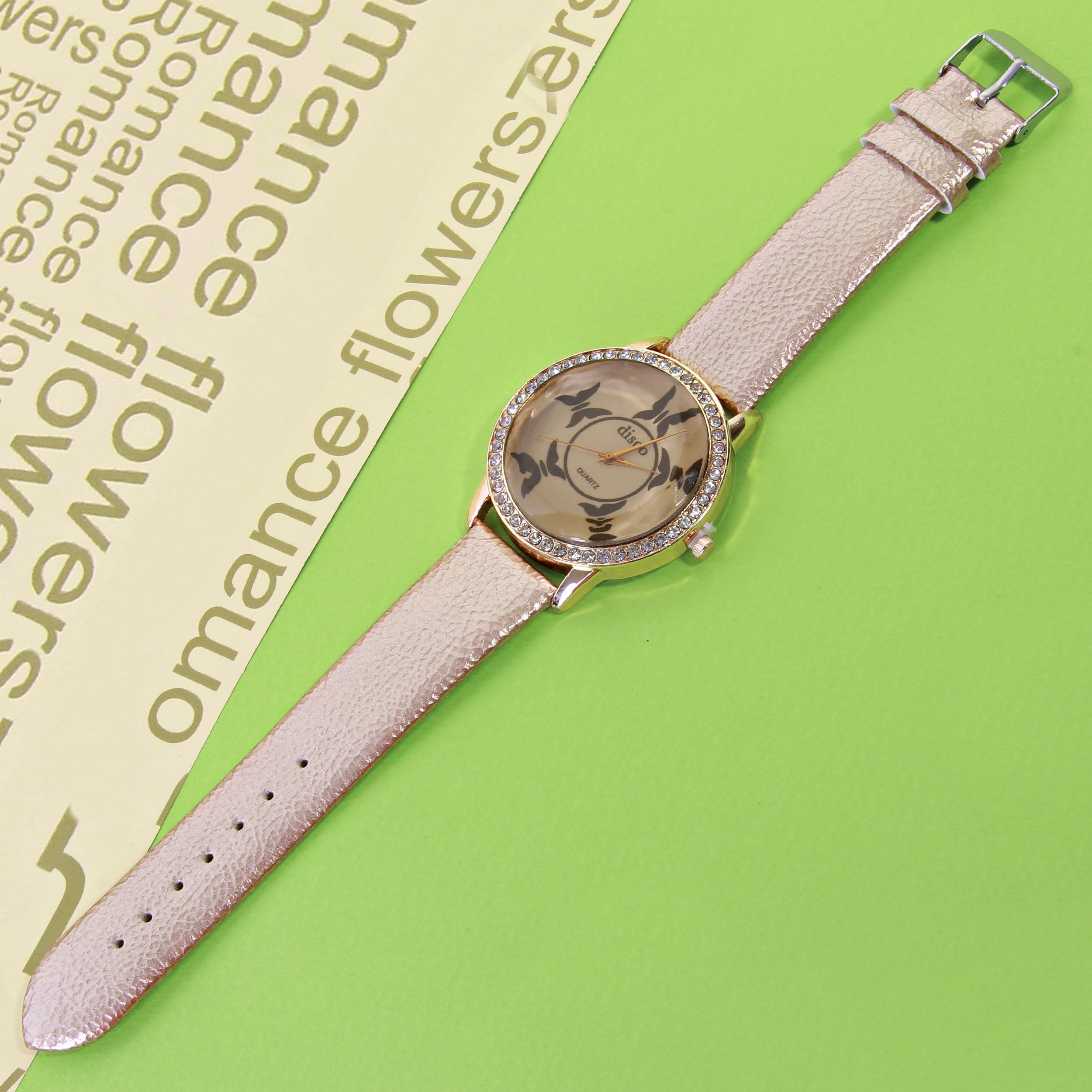 ساعت مچی عقربه ای زنانه کد WHW-141              ارزان