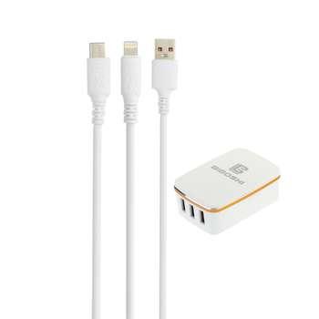 شارژر دیواری بیبوشی مدل C15 به همراه کابل تبدیل USB