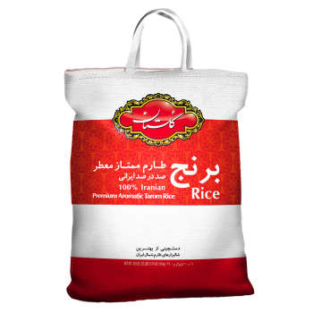 برنج طارم ممتاز گلستان وزن 10 کیلوگرم