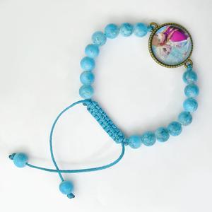 دستبند دخترانه استون سیتی مدل السا و انا D20