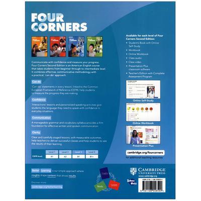 کتاب Four Corners 3 اثر Jack C.Richard and David Bohlke انتشارات زبان مهر