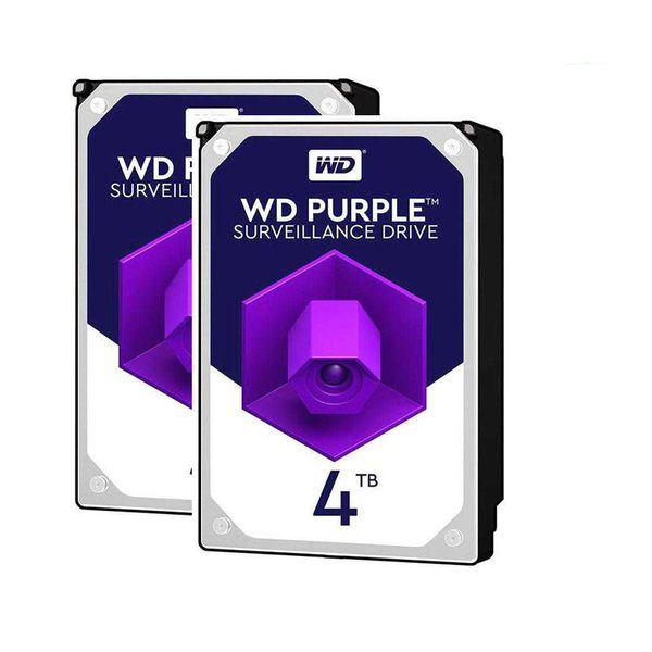 هارددیسک اینترنال وسترن دیجیتال مدلWD40PURX ظرفیت 4 ترابایت بسته دو عددی