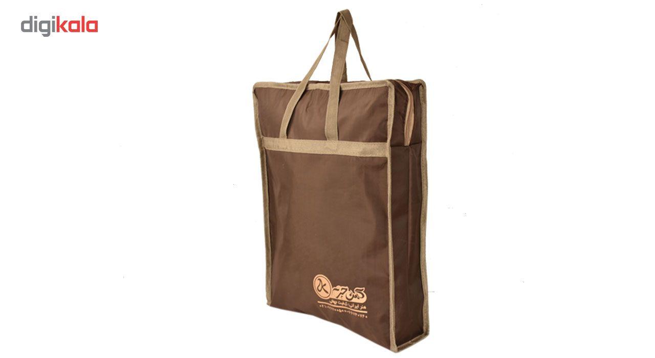 کیف دوشی چرم طبیعی کهن چرم مدل DB101-12 main 1 11