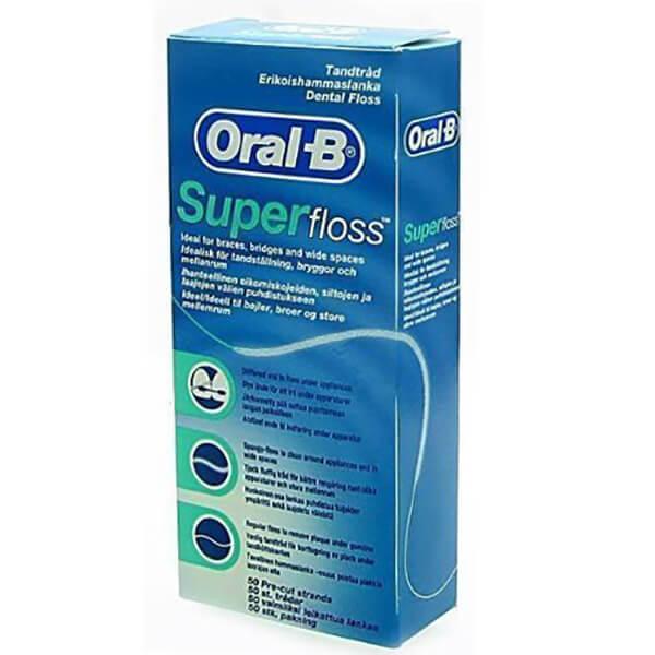 قیمت نخ دندان اورال-بی مدل  Super Floss